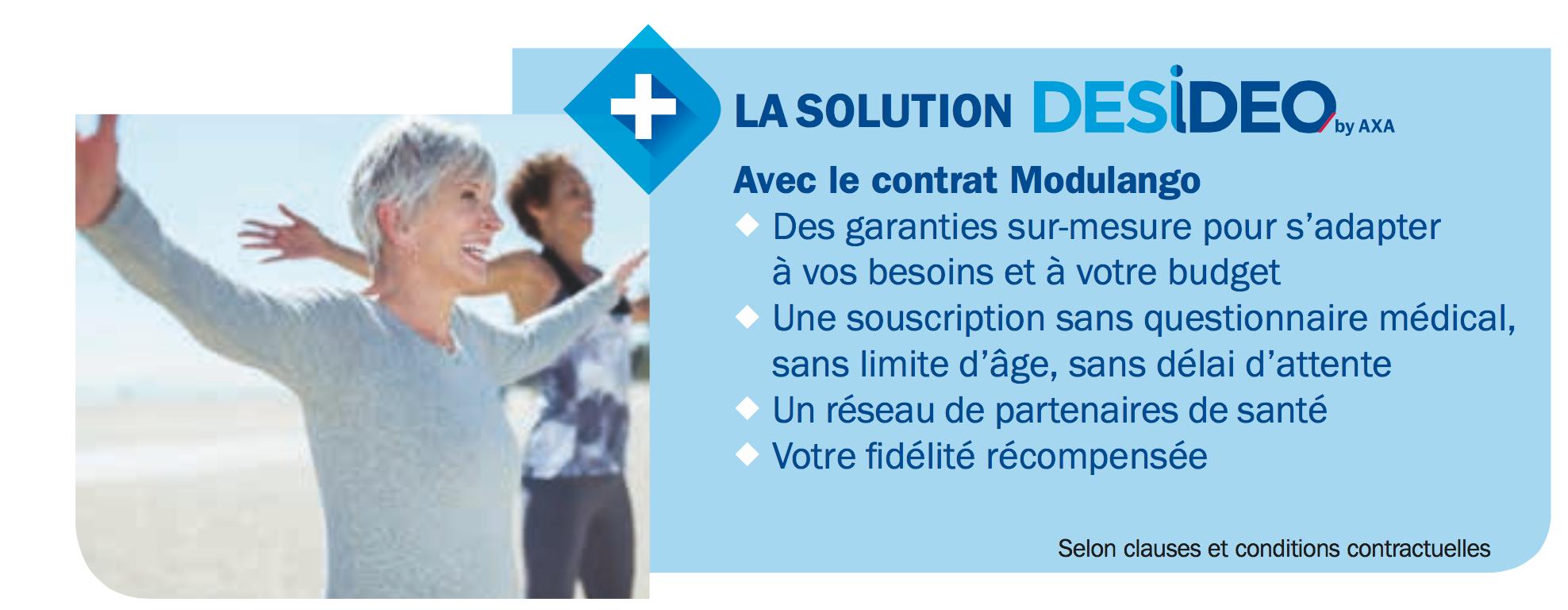 Solution santé AXA Désideo
